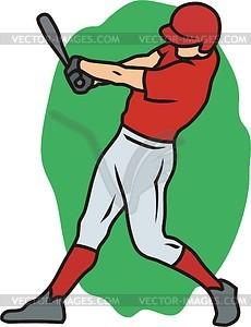 Baseball - Vektor-Clipart