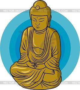 Buddha - vector image