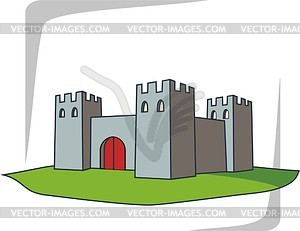 Burg - vektorisiertes Clipart