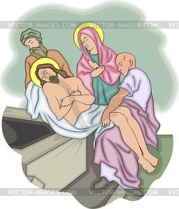 Jesus Christus - Clipart