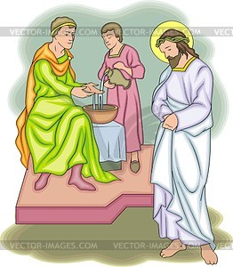 Jesus Christus - Vektor-Skizze