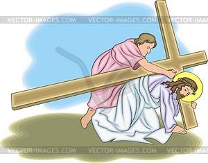 Jesus Christus - Royalty-Free Vektor-Clipart