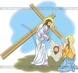 Jesus Christus - Vektor-Clipart
