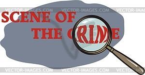 Kriminalität - Vektor-Clipart / Vektor-Bild