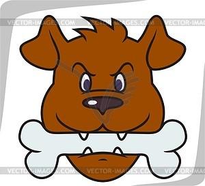Hund - vektorisiertes Clip-Art