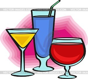 Trinken - Vector-Clipart / Vektor-Bild