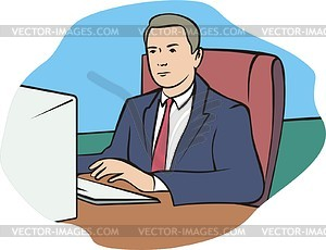 Mitarbeiter - Vector-Clipart / Vektor-Bild