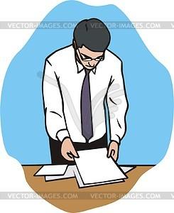 Mitarbeiter - Vector-Clipart / Vektorgrafik
