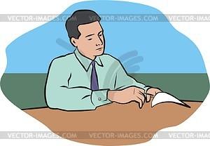 Mitarbeiter - Vektor-Illustration