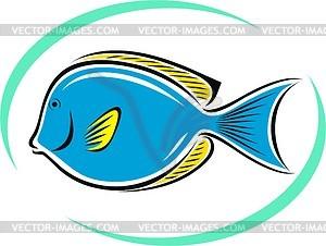 Aquarienfische - vektorisiertes Design