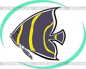 Aquarienfische - Clipart