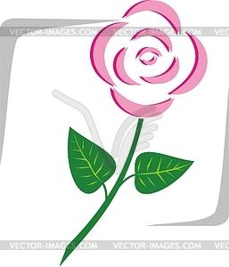 Blume - Vektor-Clipart EPS