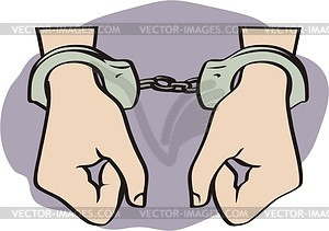 Gallery For > Person Handcuffs Clipart