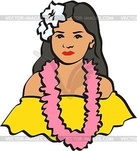 Hawaiisches Clipart - Clipart-Design