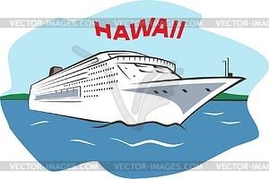 Hawaiisches Clipart - Vektor-Clipart / Vektor-Bild