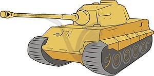 Panzer Königstiger - Vector-Bild