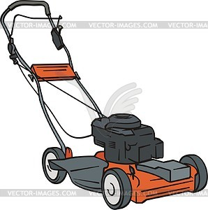 Lawn-mower - vector clipart