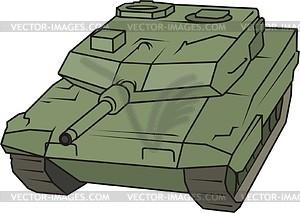 Panzer Leopard - Vektorgrafik