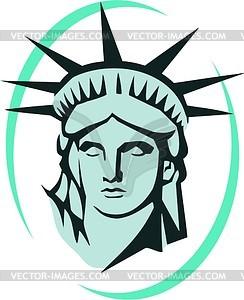 Die Freiheitsstatue in New York - Vector-Abbildung