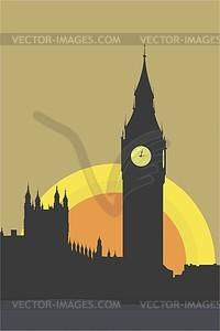 London, Big Ben - Vektorgrafik