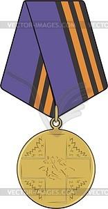 Medaille - vektorisierte Abbildung