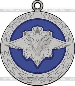 Medaille - Stock Vektor-Clipart
