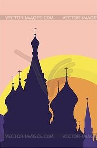 Moskau - Vector-Design