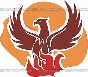 Phoenix - Vektor-Clipart EPS