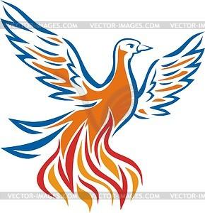 Phoenix - Vector-Design