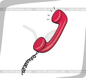 Телефонная трубка - векторный клипарт