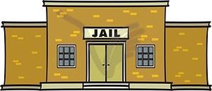 Gefängnis - Vektor-Bild