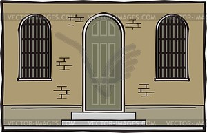 Gefängnis - Vektor-Design