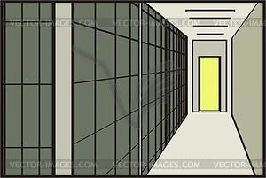 Gefängnis - Vector-Clipart