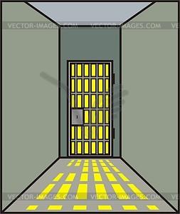 Gefängnis - Vector-Bild