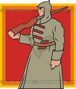 Красная армия клипарт в векторе