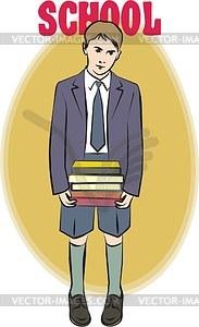 Schüler - Clipart-Bild