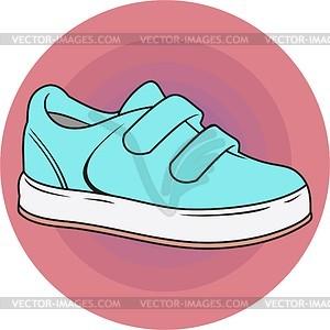 Schuhe für Kinder - Clipart
