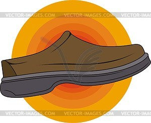 Schuhe - Royalty-Free Vektor-Clipart