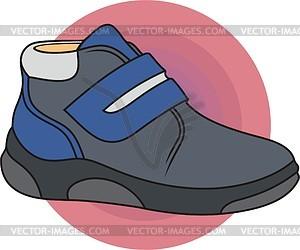 Schuhe - farbige Vektorgrafik