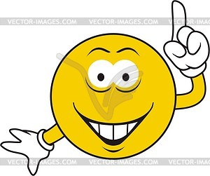 Smilie - Vector-Bild