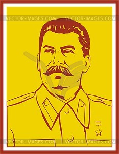 Joseph Stalin - Vector-Abbildung