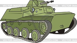 Panzer T-40 - Vector-Clipart EPS
