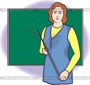 Учитель векторный клипарт eps