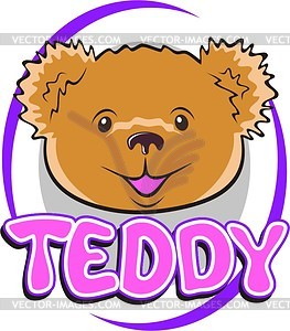 Teddy bear - vector clipart