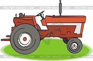 Traktor - Vector-Clipart
