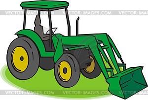 Traktor - Vector-Design