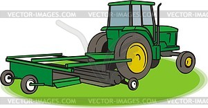 Traktor - Vektorgrafik