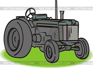 Traktor - Vektor-Clipart