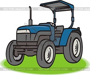 Traktor - Vektor-Design