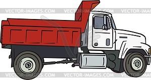 LKW - Vektor-Clipart / Vektorgrafik
